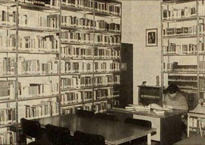 Antigua biblioteca en el ayuntamiento