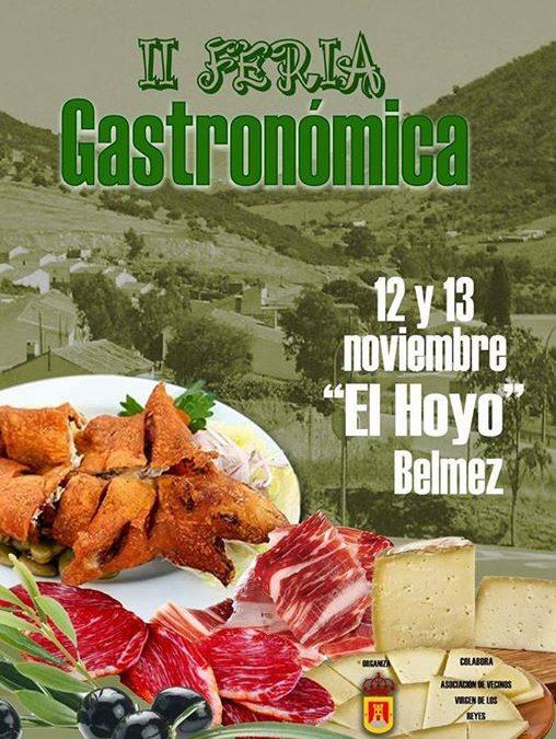 II Feria Gastronómica de la aldea El Hoyo