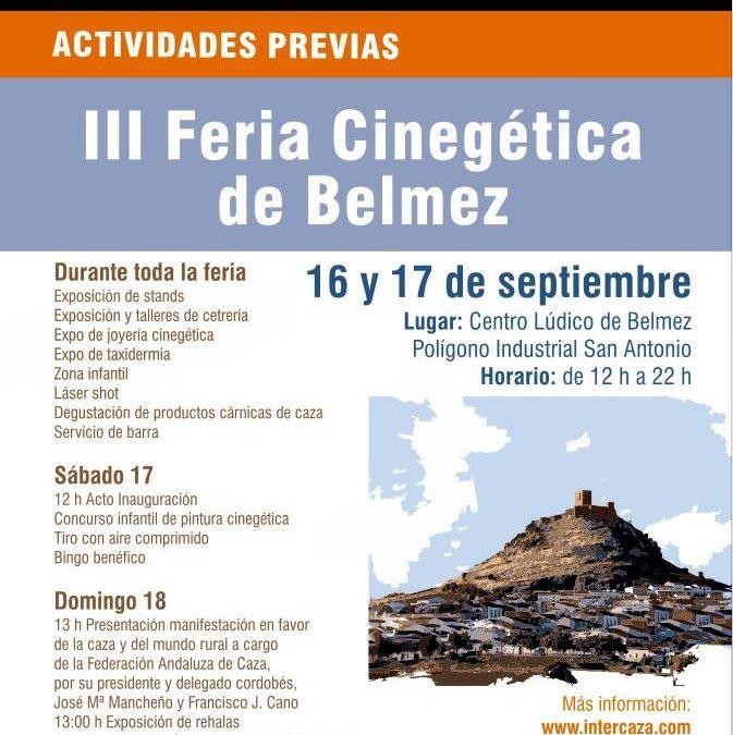 III Feria Cinegética de Belmez
