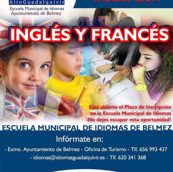 Nuevo curso de la Escuela Municipal de Idiomas 2017-2018