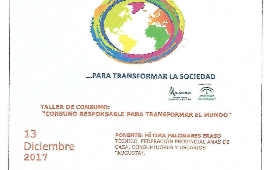 Consumo responsable para cambiar el mundo