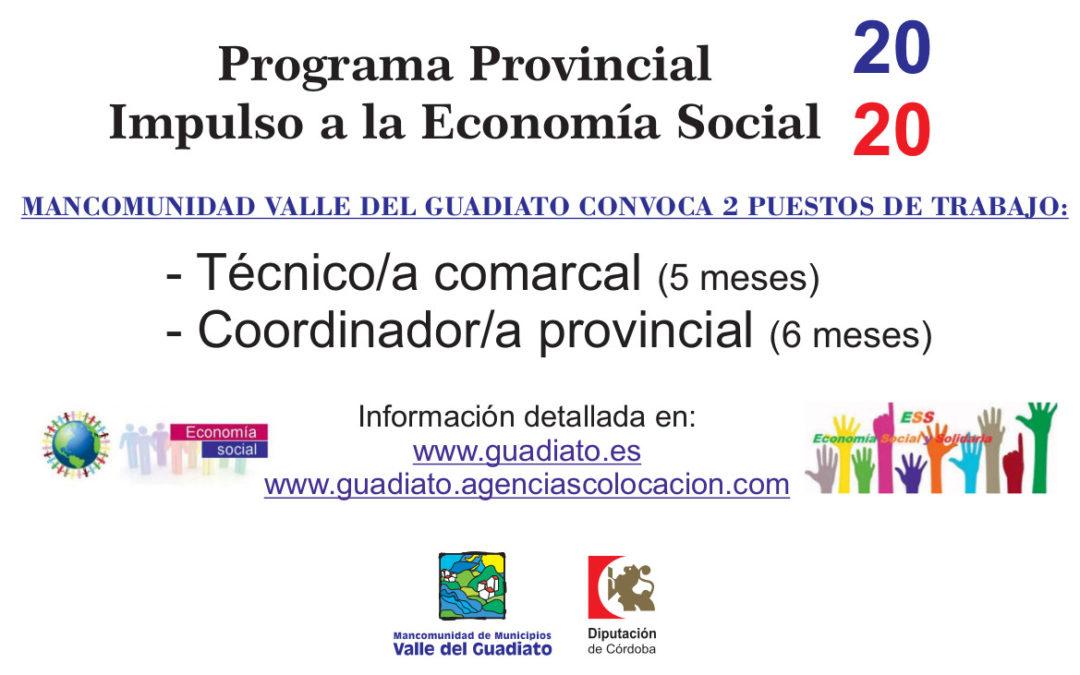 Programa Provincial Impulso a la Economía Social