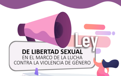 """"""" LA LEY DE LIBERTAD SEXUAL EN EL MARCO DE LA LUCHA CONTRA LA VIOLENCIA DE GÉNERO"""" Un nuevo enfoque para la libertad sexual."""