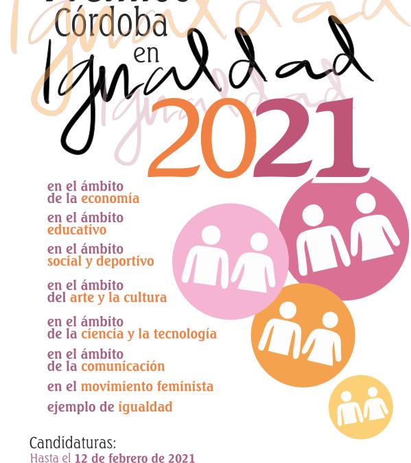 """""""Premios Córdoba en Igualdad"""" 2021"""