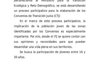 NOTA INFORMATIVA. Cuestionario online ITJC.